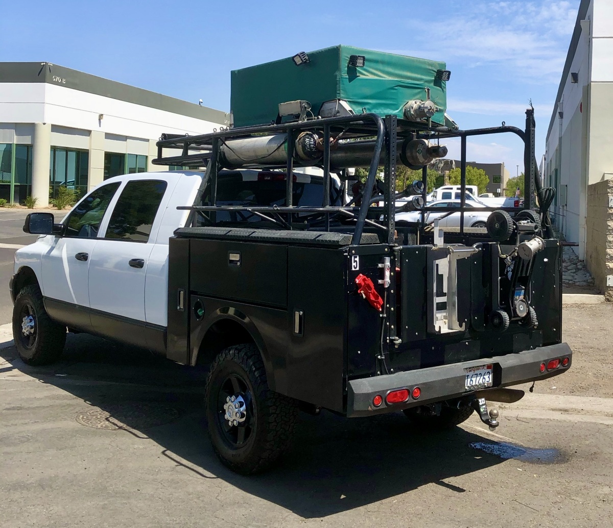 For Sale: REDUCED 2008 Dodge 2500 4x4 MegaCab Chase Truck - photo1
