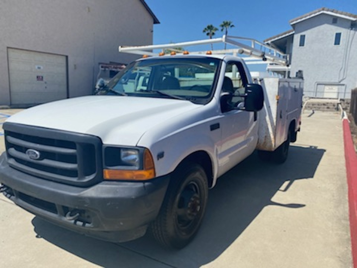 For Sale: 2001 Ford F-350 Dually Utility bed - photo0