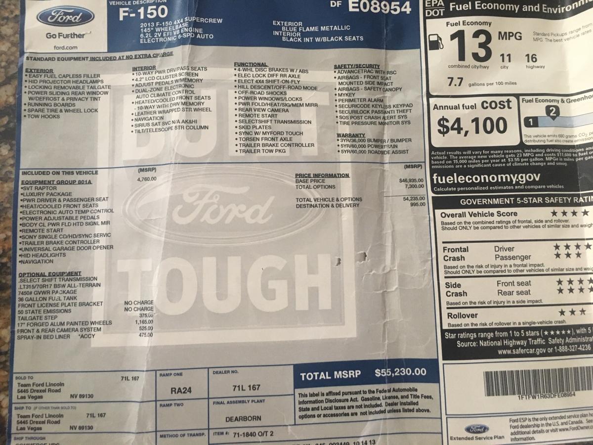 For Sale: 2013 Ford SVT Raptor - photo11