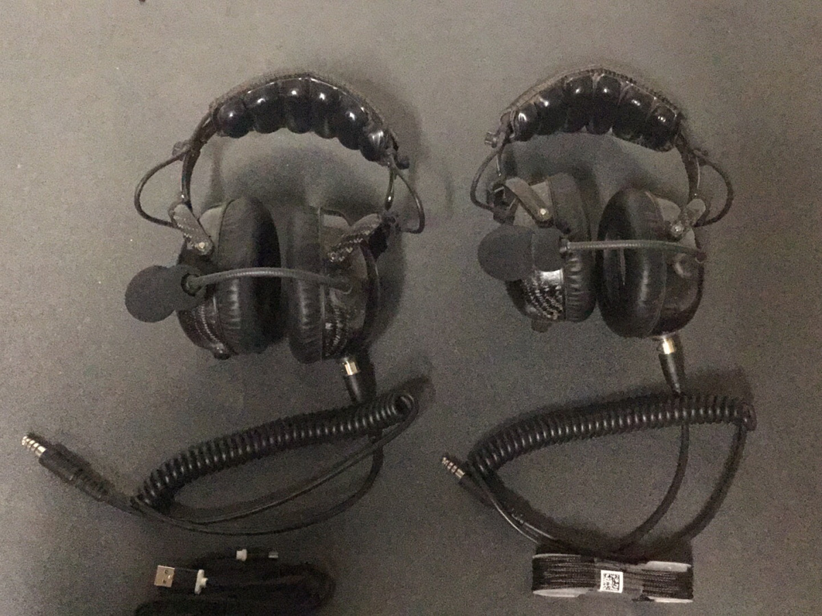 For Sale: Rugged Radios H28-AlphaBass Headsets (two) - photo0
