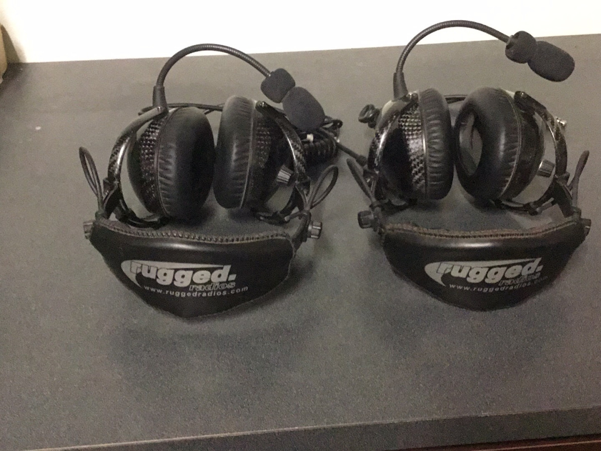 For Sale: Rugged Radios H28-AlphaBass Headsets (two) - photo1