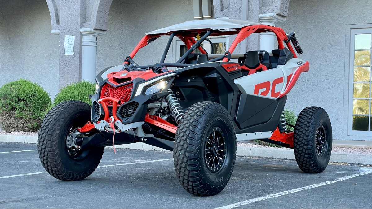 For Sale: 2021 Can-Am Maverick X3 RC RR 180 miles trades considered  - photo5