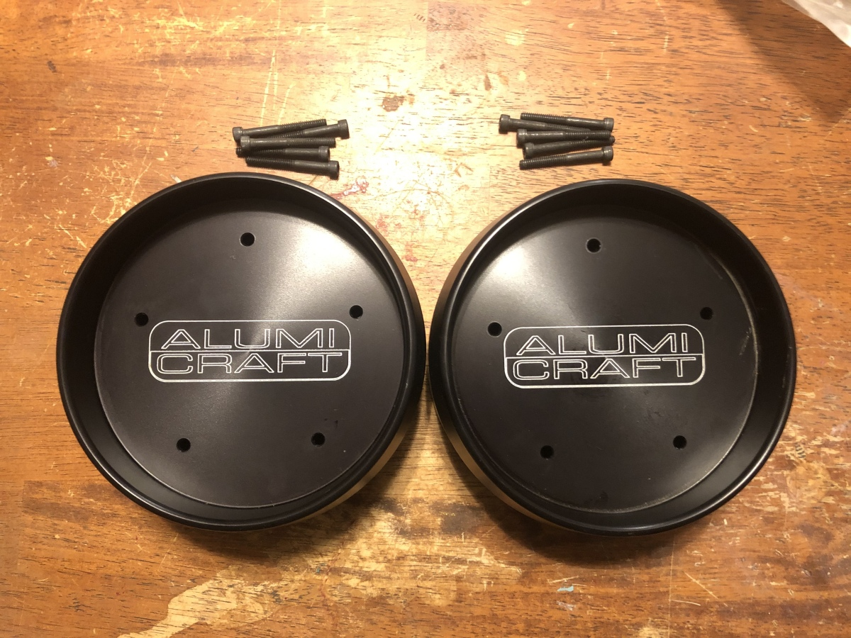 For Sale: AlumiCraft Hub Covers - photo0