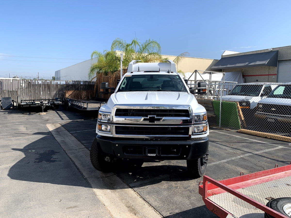 For Sale: 2019 Chevrolet 5500HD Crew Cab Chase Truck - 4x4 - photo1