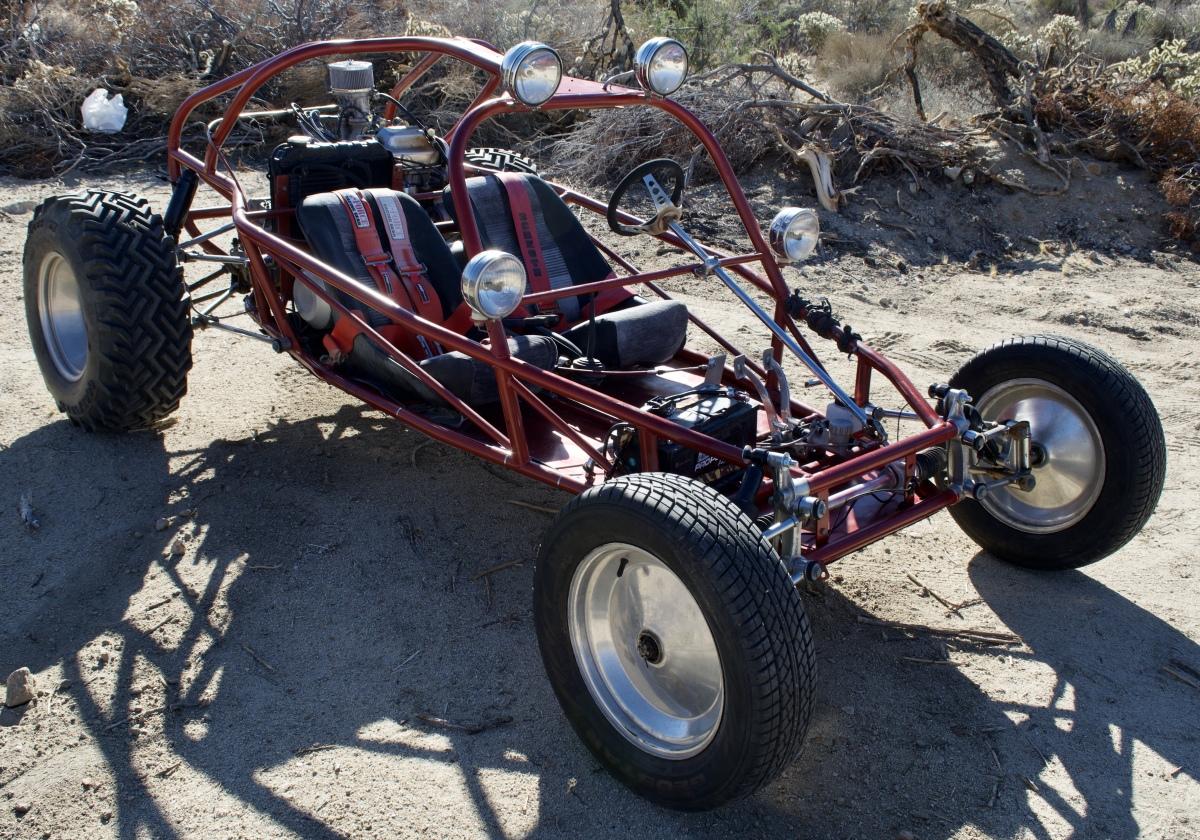 For Sale: Skat Trak - 4cyl Honda - 4 link suspension  - photo0