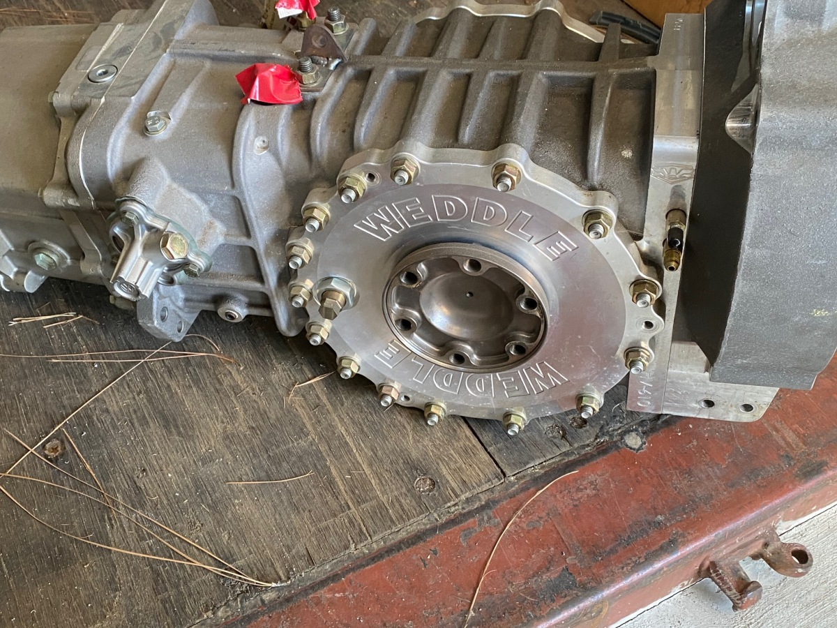 For Sale: Weddle 5 speed Transaxle New - photo0
