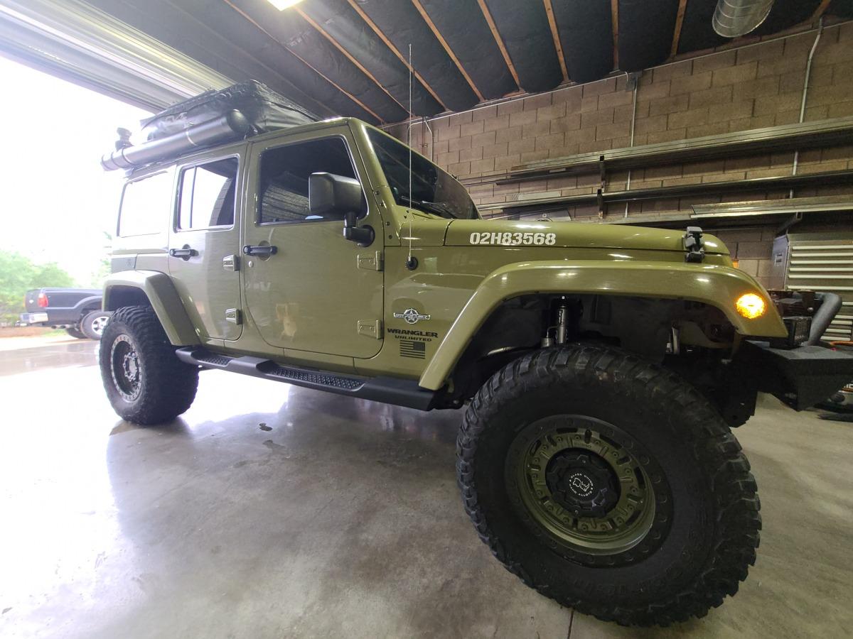 For Sale: 2013 jeep wrangler j/k oscar Mike freedom edition - photo1