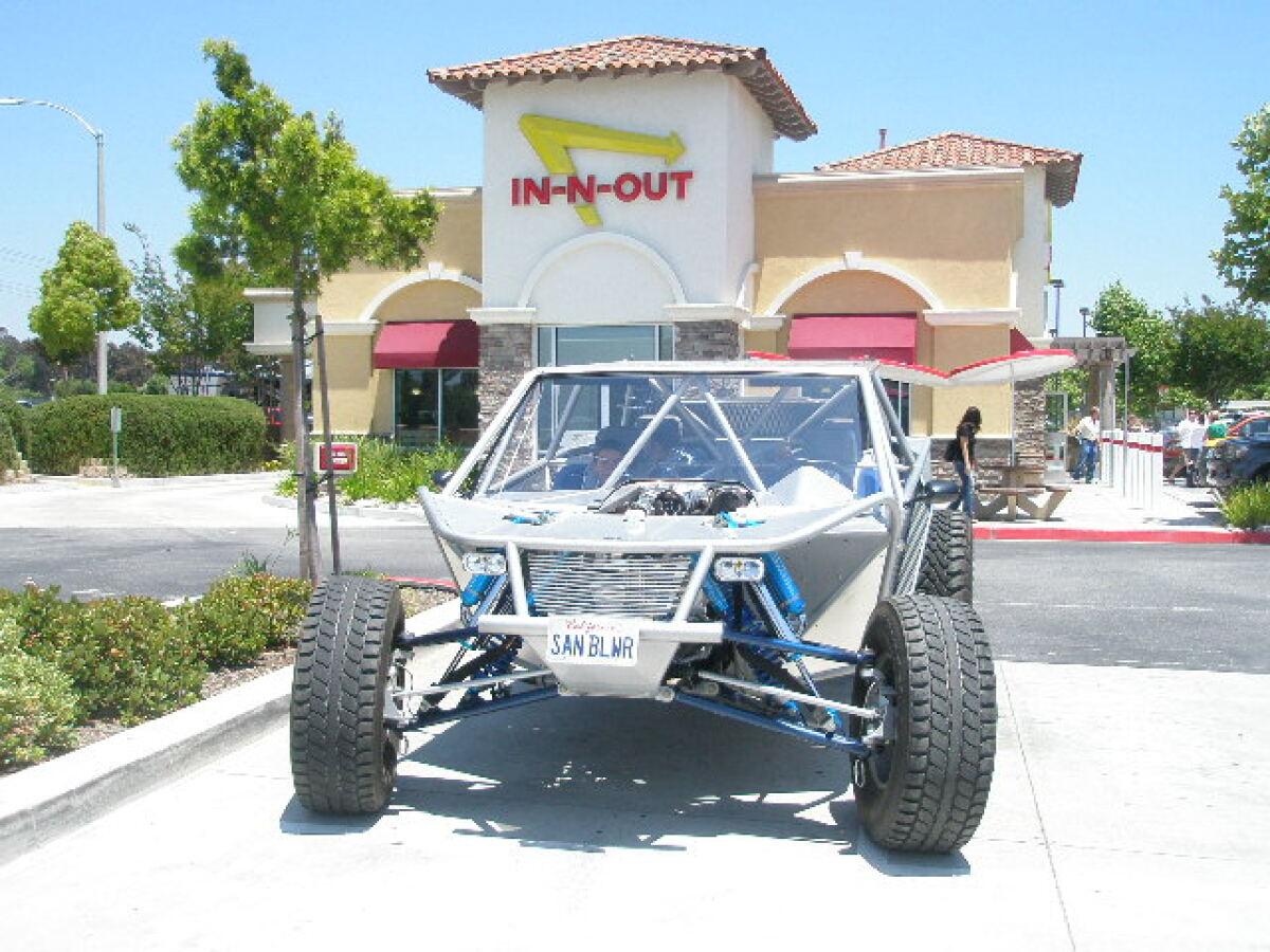 For Sale: 2010 V8Rail Tri-Sport: Sand, Dirt, and Street CA Registered - photo7