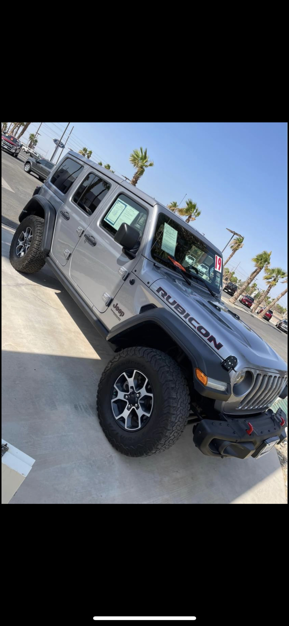 For Sale: 2019 Jeep Wrangler Unlimited Rubicon 4x4  - photo0