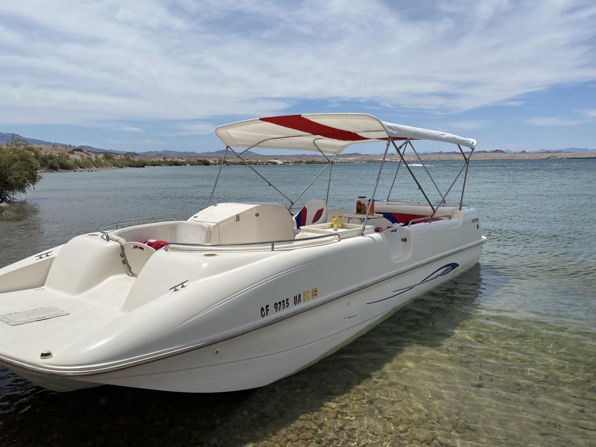 For Sale: 2002 Rinker flotilla deck boat - photo0