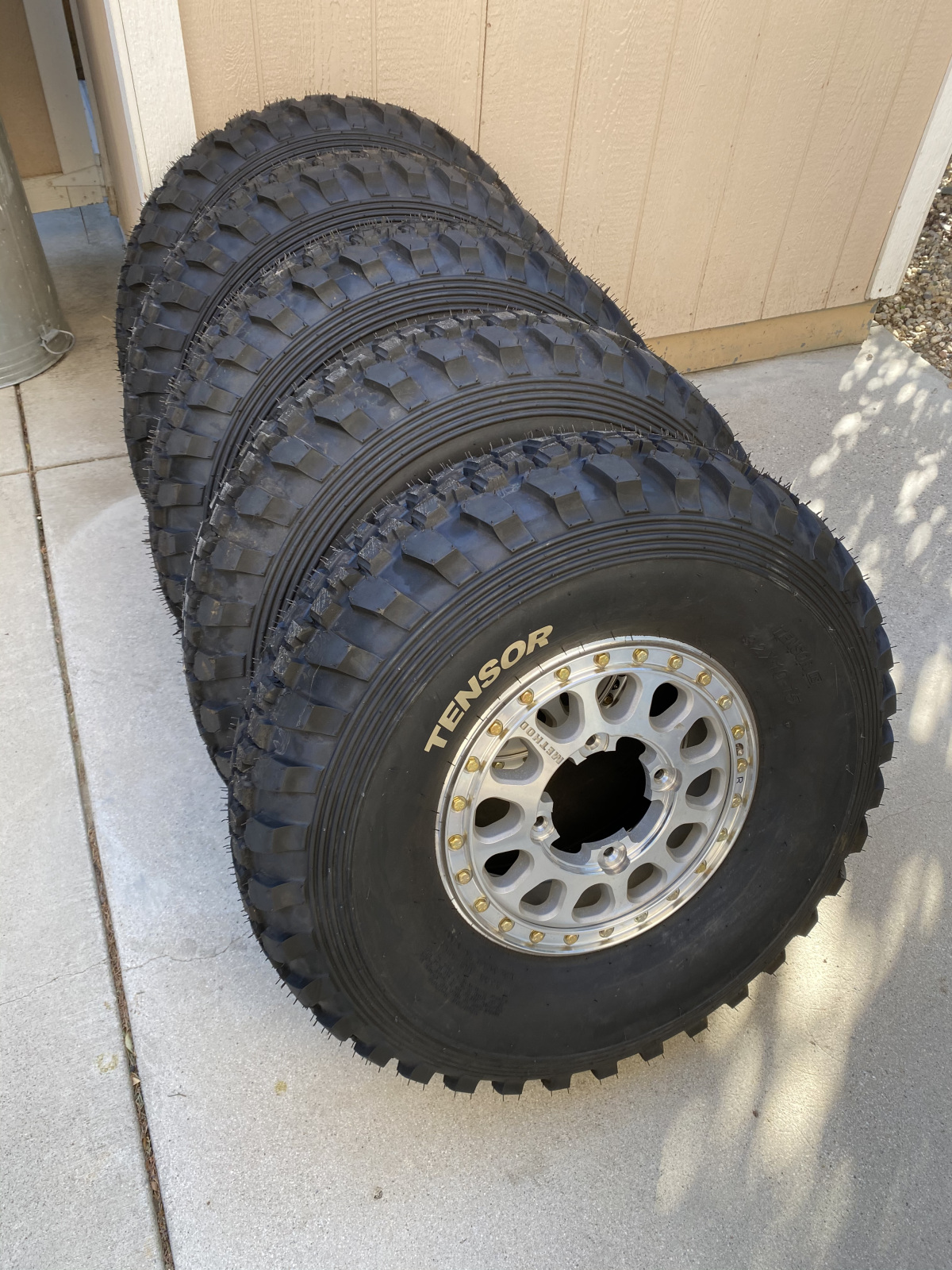 For Sale: Tensor tires on Method wheels and Tireballs - photo0