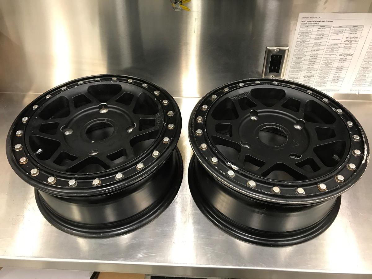 For Sale: Method 405 wheels Polaris bolt pattern - photo0