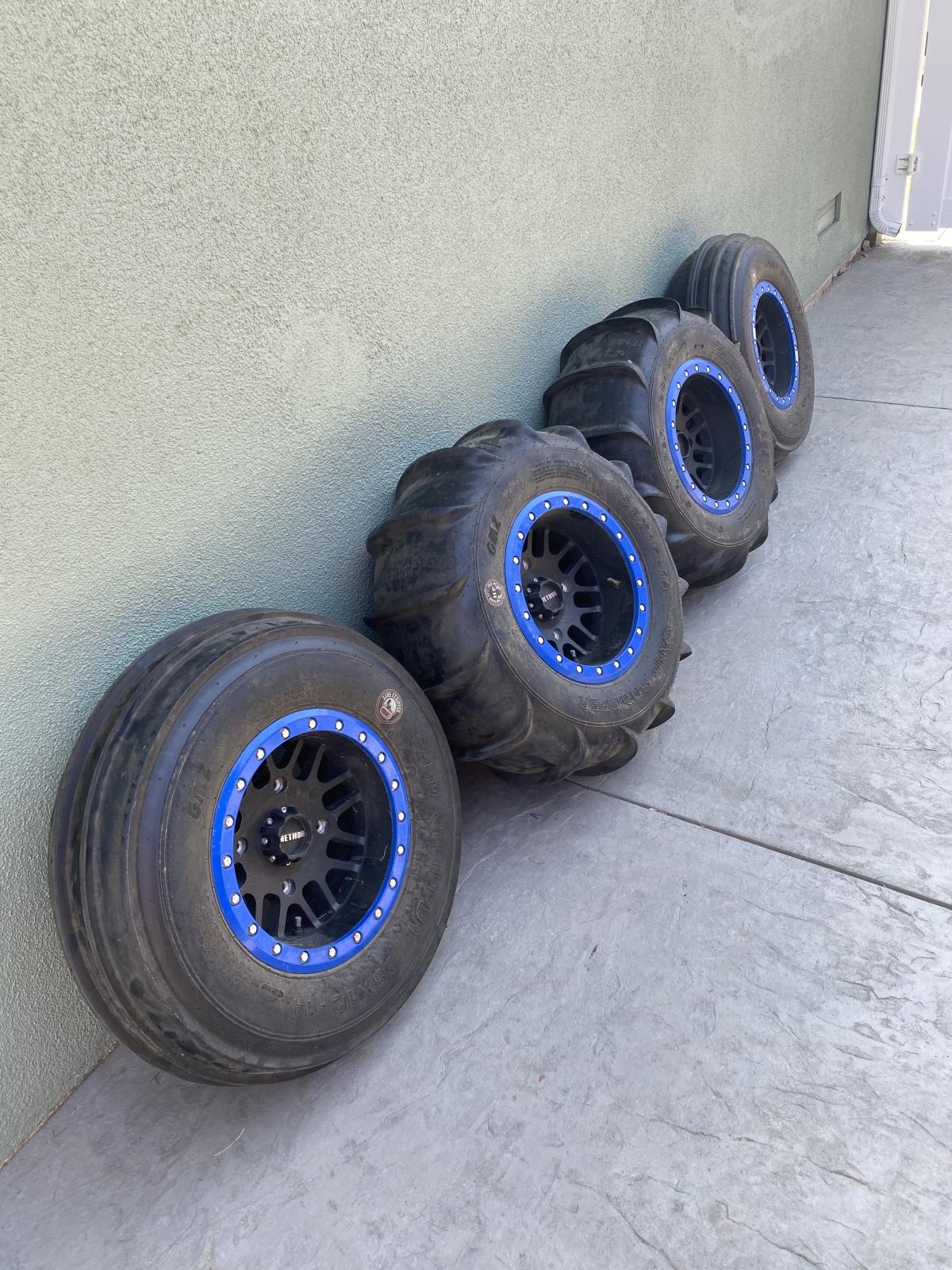 For Sale: RZR xp1000 sand tire set up  - photo0