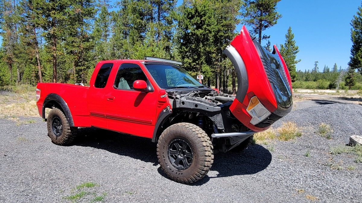 For Sale: 2001 Ford f150 4x4 prerunner - photo1