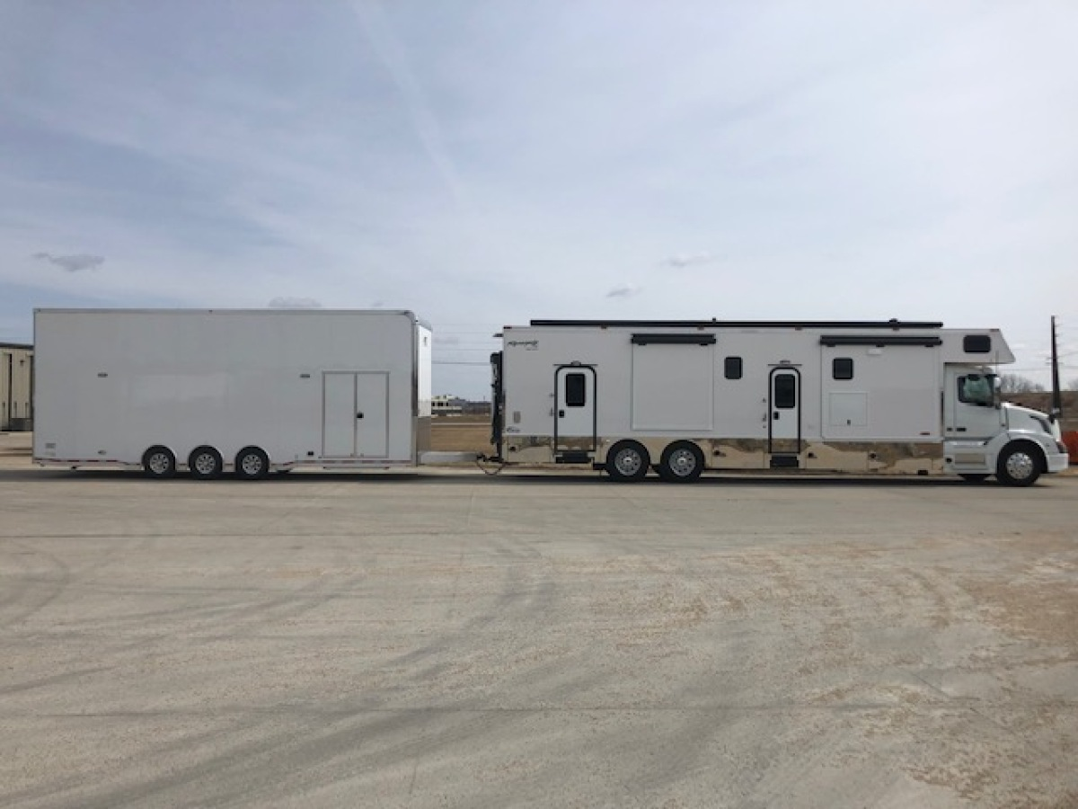 For Sale: 2019 Renegade Volvo race hauler with ATC trailer - photo2