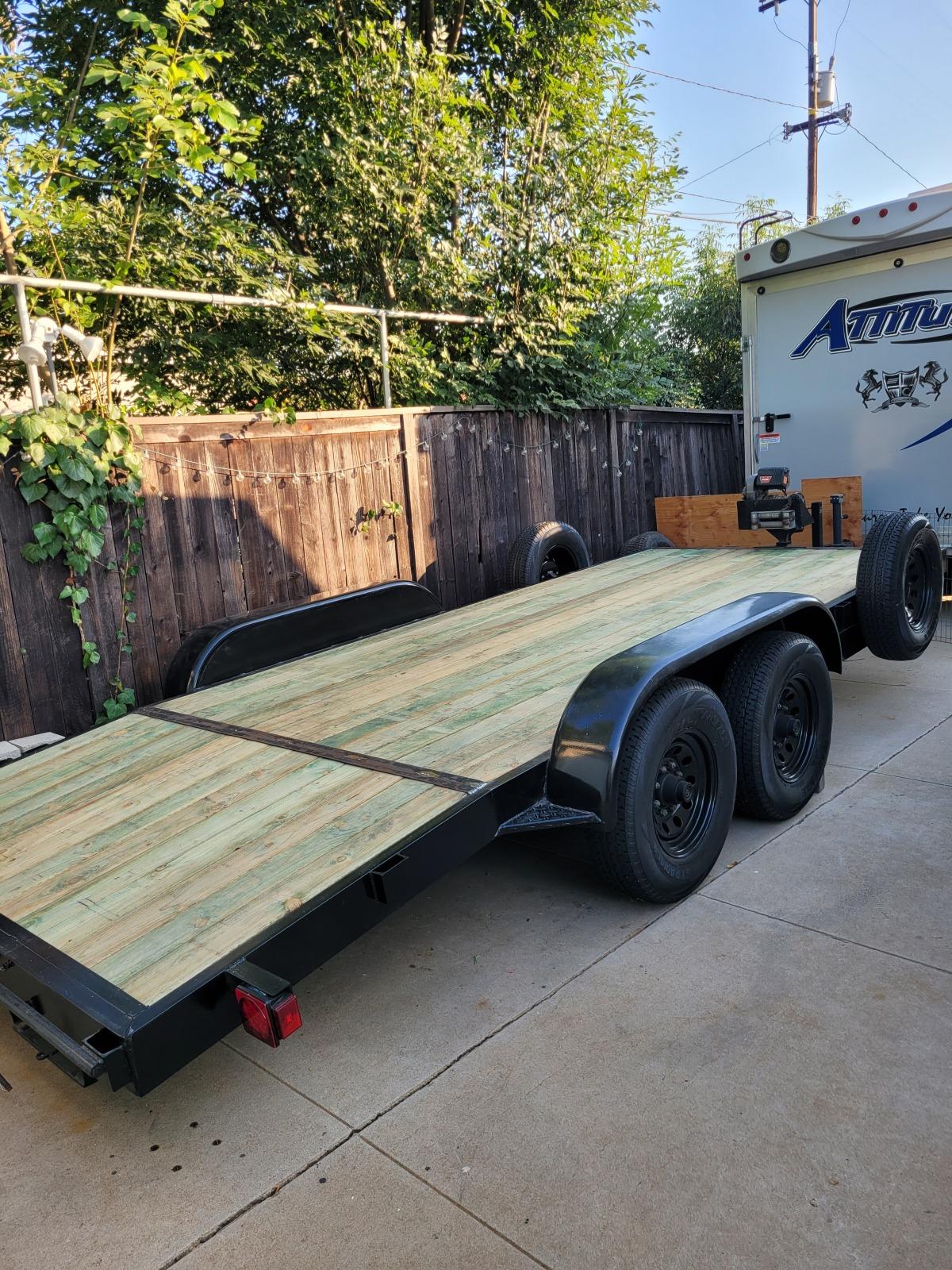 For Sale: Carson heavy duty equipment trailer/car hauler - photo0