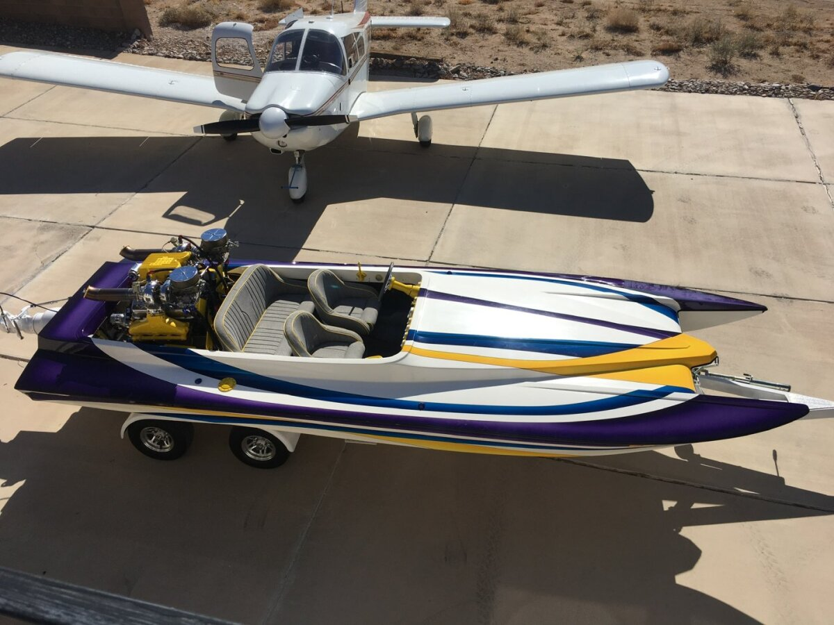 For Sale: 2000 Ultra Custom Boats Shadow Cat Jet Boat  - photo0