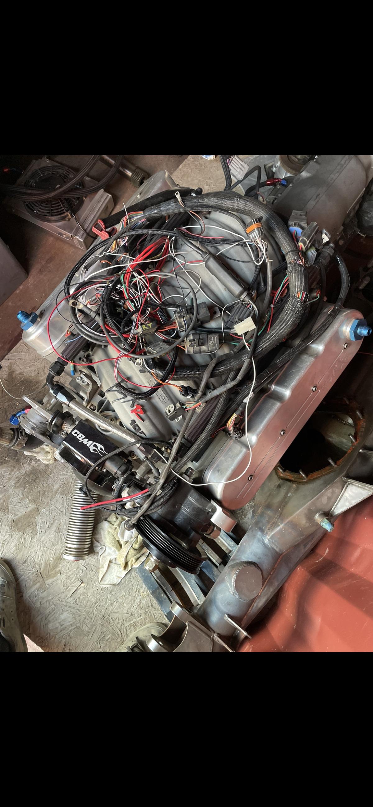 For Sale: LSX Motor & Reid TH400 - photo1
