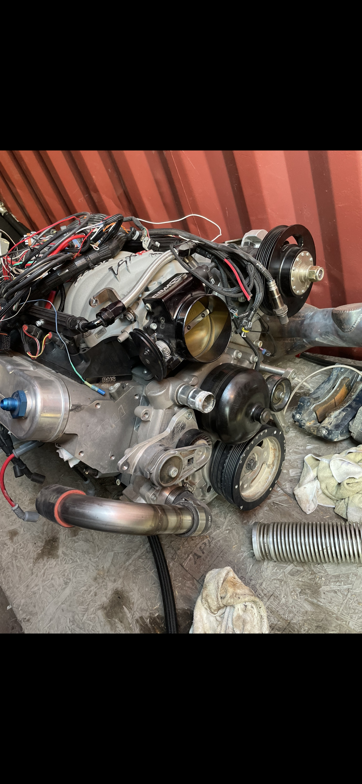 For Sale: LSX Motor & Reid TH400 - photo0