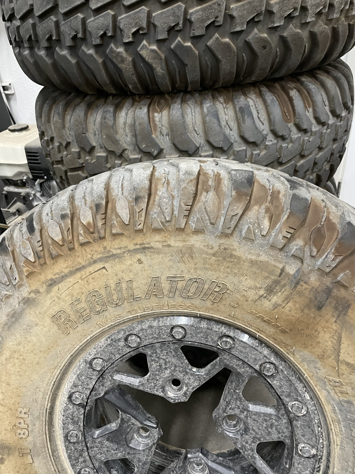 For Sale: CanAm Tires & Wheels - photo0