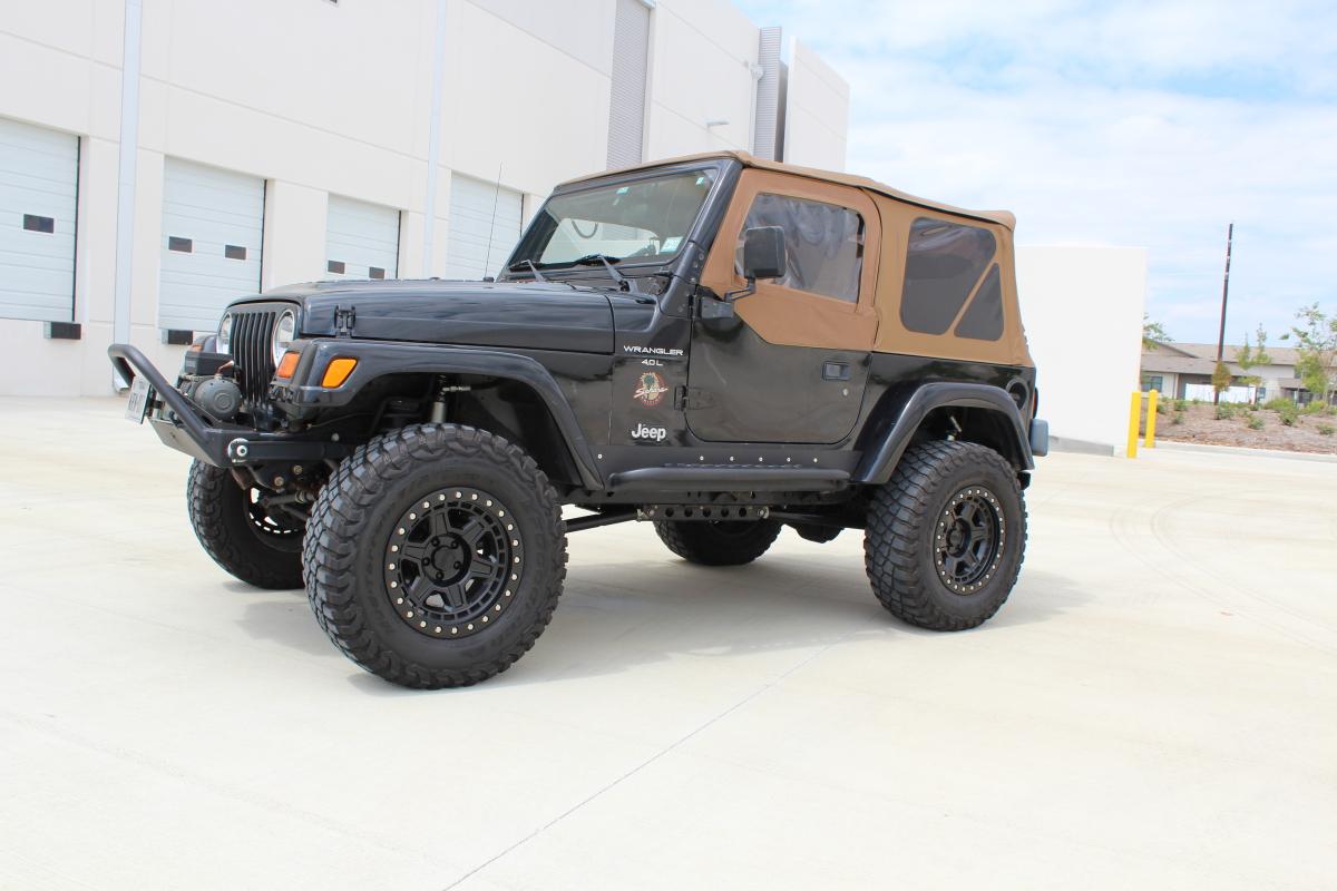 For Sale: 2001 Jeep TJ - Long Arm, 2.5