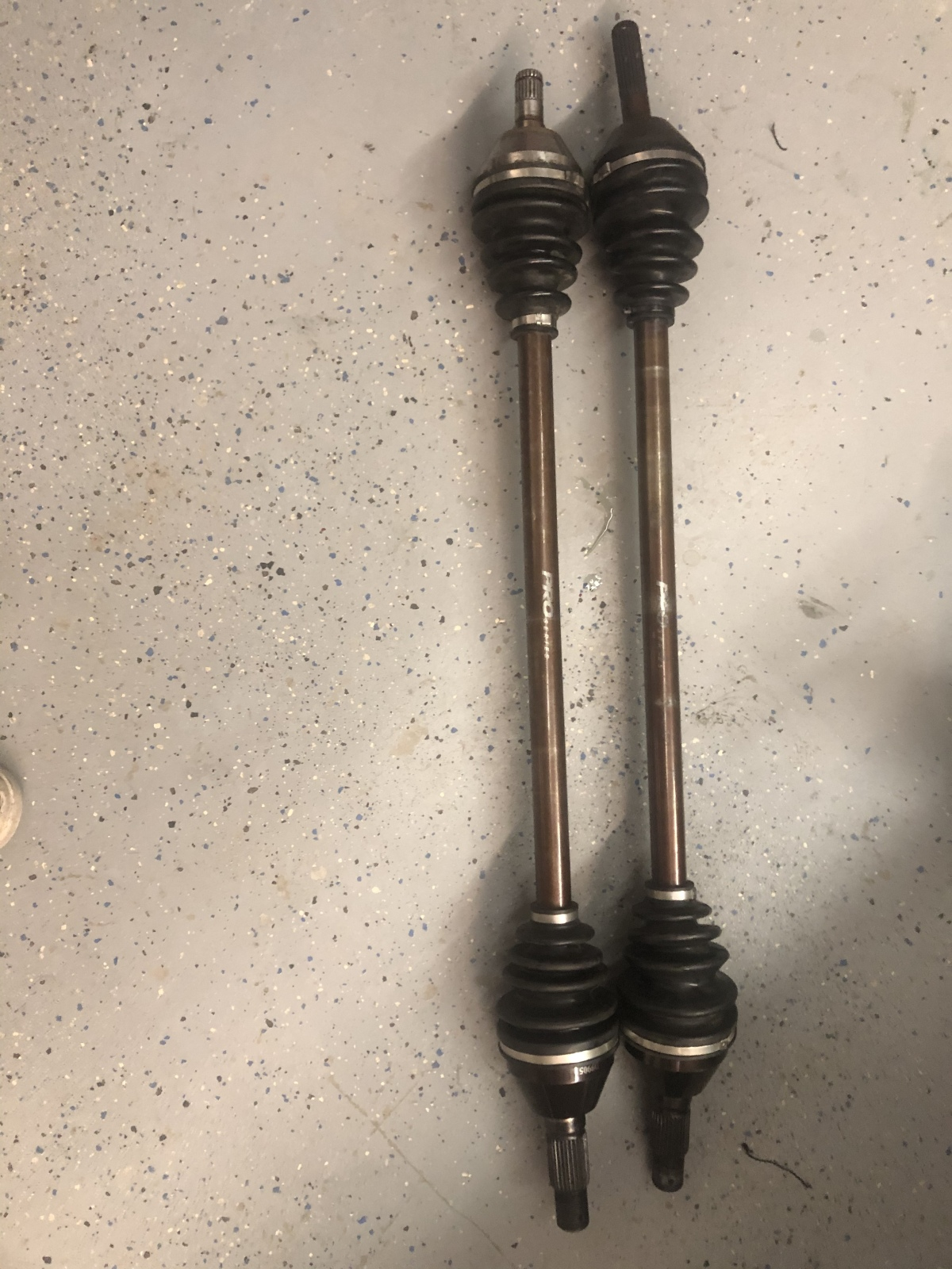 For Sale: RCV Front Axles For Can Am X3 Non Smartlock Front Diff - photo0