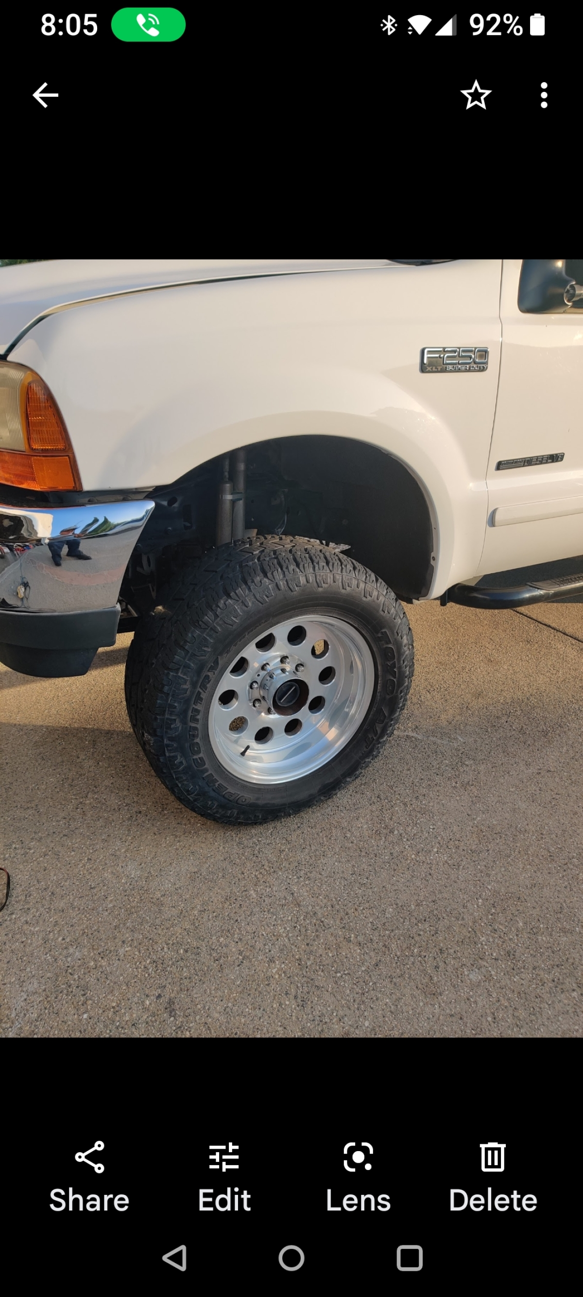 For Sale: 4 wheels and tires Toyo AT 35