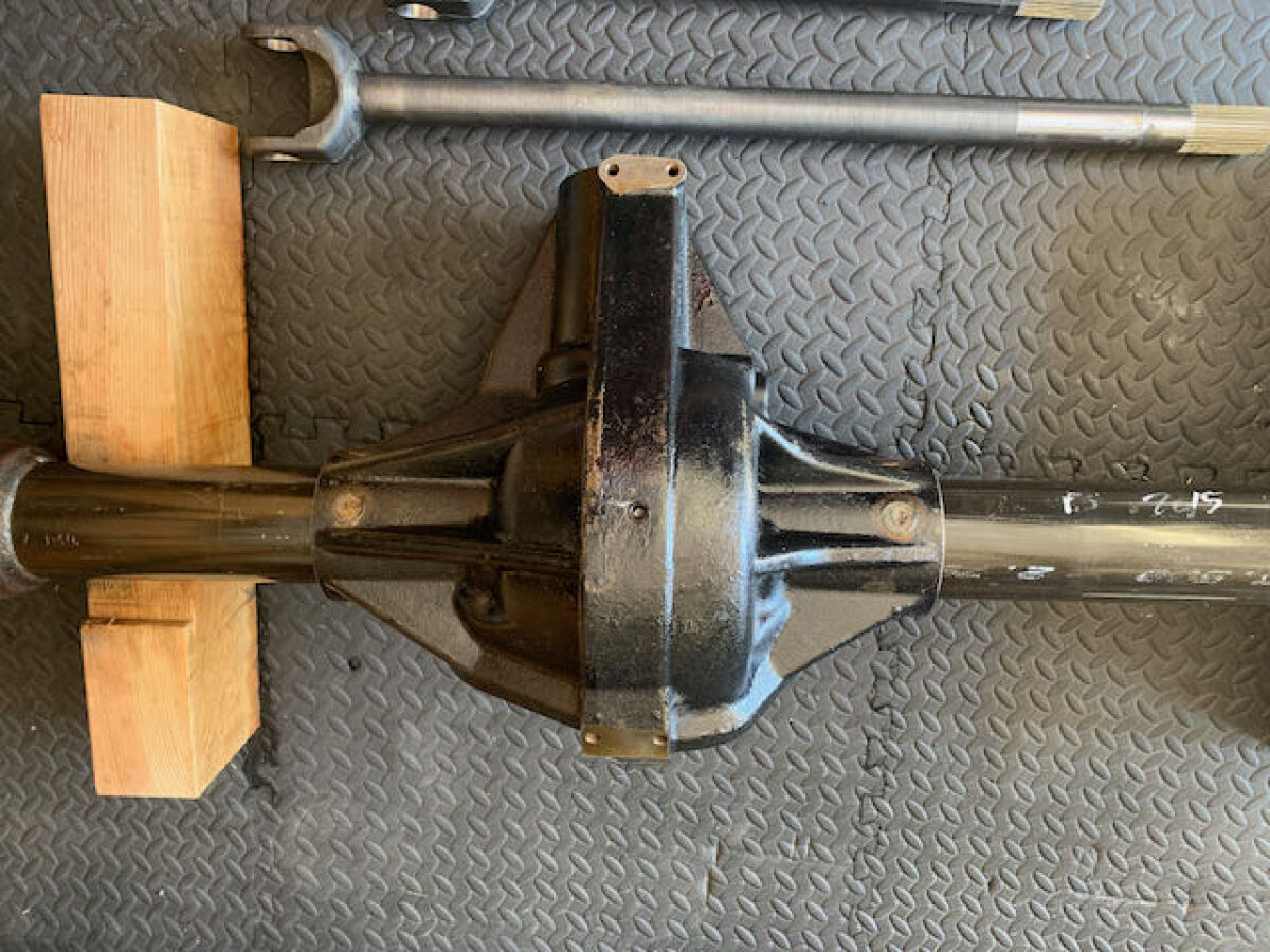 For Sale: CURRIE ROCK JOCK FRONT EXTREME 60 WITH INNER AXLES - photo2