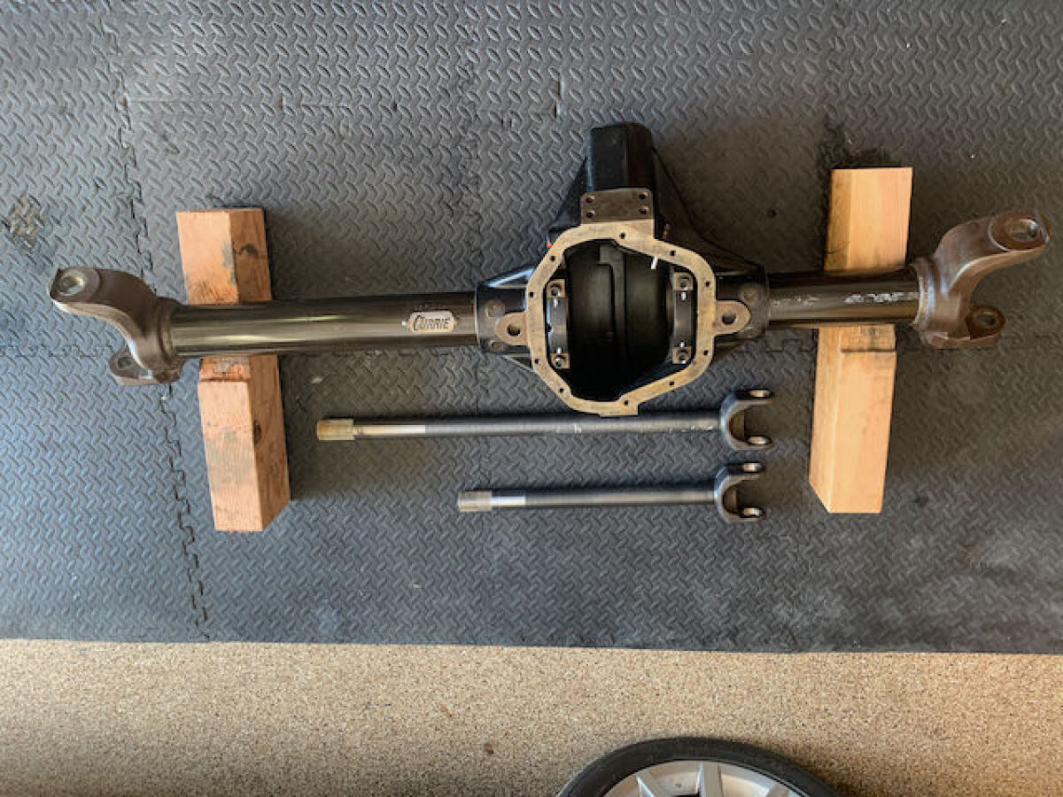 For Sale: CURRIE ROCK JOCK FRONT EXTREME 60 WITH INNER AXLES - photo4