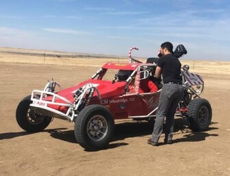 For Sale:Former Candy Cane Car- A Piece of Offroad Racing History