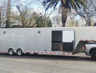For Sale:2018 inTech Aluminum Enclosed Trailer