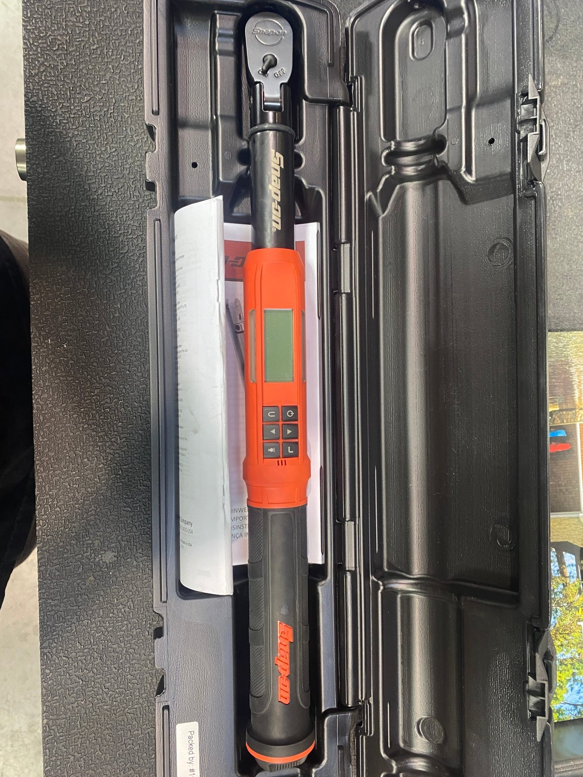 For Sale: Snap On 3/8 Digital Torque Wrench - photo0