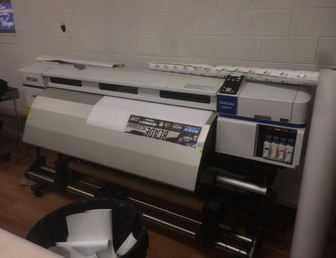 For Sale: Large format printers Wrap  Stickers Banners
